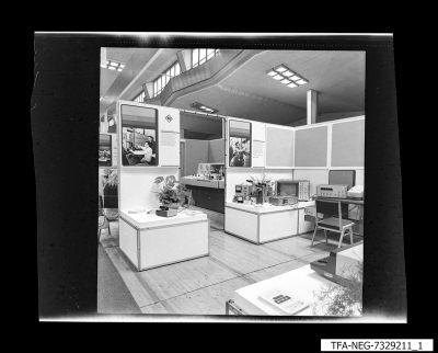 Messestand, Bild 1, Foto 1973