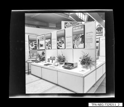 Messestand, Bild 2, Foto 1973