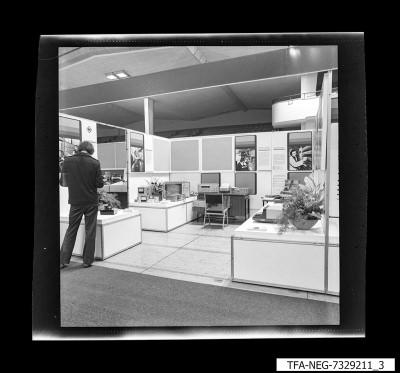 Messestand, Bild 3, Foto 1973
