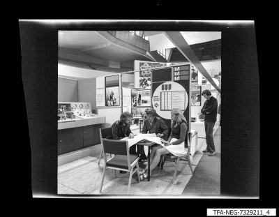 Messestand, Bild 4, Foto 1973