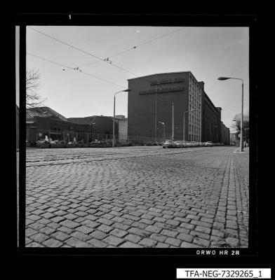 Ansicht des WF-Geländes, Bild 1, Foto 1973