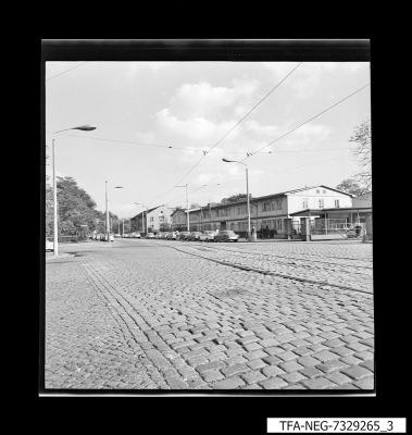 Straßenansicht Ostendstraße, Foto 1973