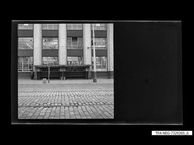 Haltestelle, Foto 1973
