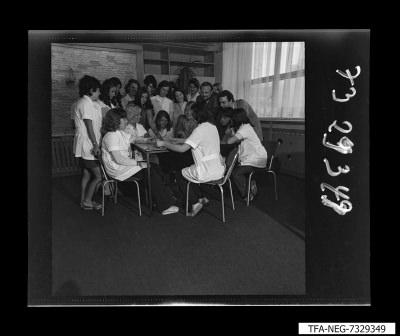 Gruppenbild Jugendbrigade 69, Foto 1973
