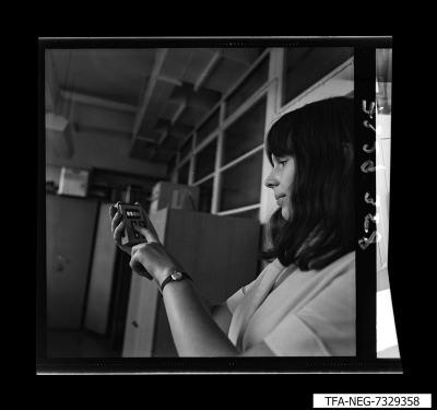Profilbild Mitarbeiterin FLSA, Foto 1973