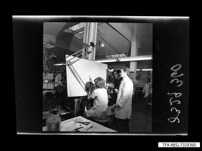 Technische Zeichnerin, Foto 1973
