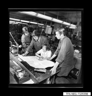 MMM 73 Universaleinrichtung zum Feinbohren; Foto 1973