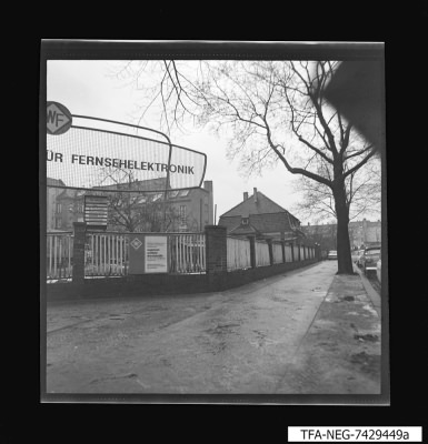 Straßenfront Pankow, Foto 1974