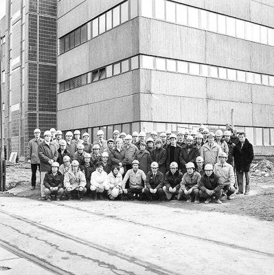 Gruppenfoto mit Besuch aus Japan, Foto 1984