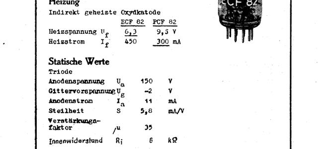 Röhren für die Republik aus dem Werk für Fernmeldewesen (WF), Folge 20