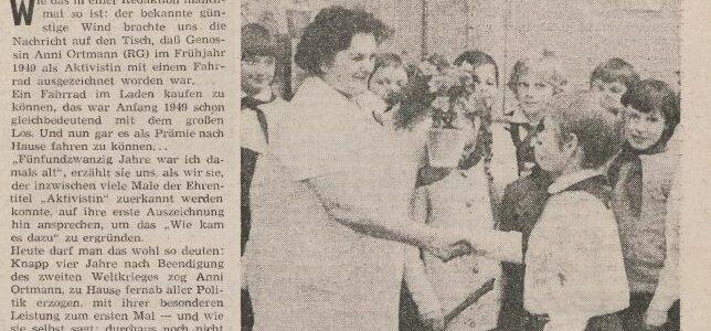 Und wie ging es weiter mit Anni Gent? – Frauen im WF, Folge 11