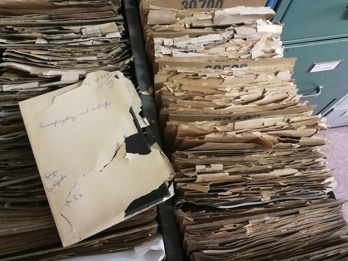 Quellen zur Geschichte des WF – Folge 2 – das Archiv der Fotostelle des WF