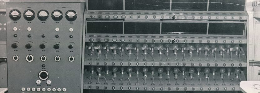Fotoalbum Produktion im Werk für Fernmeldewesen (HF), 1951