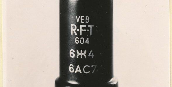 Röhren für die Republik aus dem Werk für Fernsehelektronik (WF), Folge 43